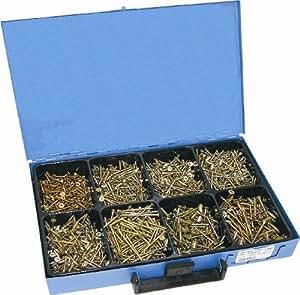 Dresselhaus 8623 Coffret de vis ABC Spax Galvanisées (Import Allemagne)