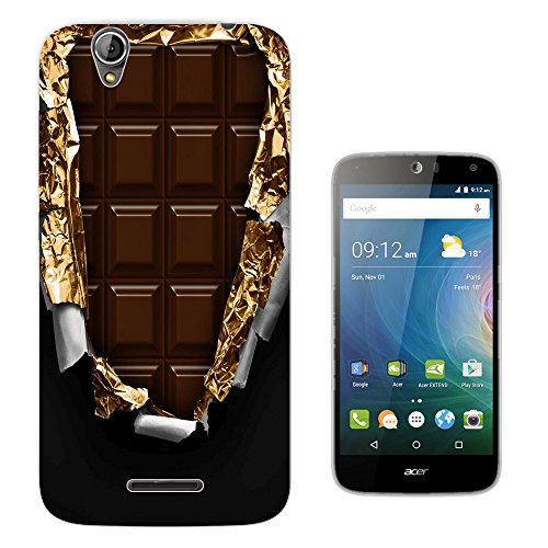 actory Slab Of Chocolate Gold Wrapper Design Acer Liquid Z630 Z630S Fashion Trend Silikon Hülle Schutzhülle Schutzcase Gel Rubber Silicone Hülle (Gucci Chocolate)