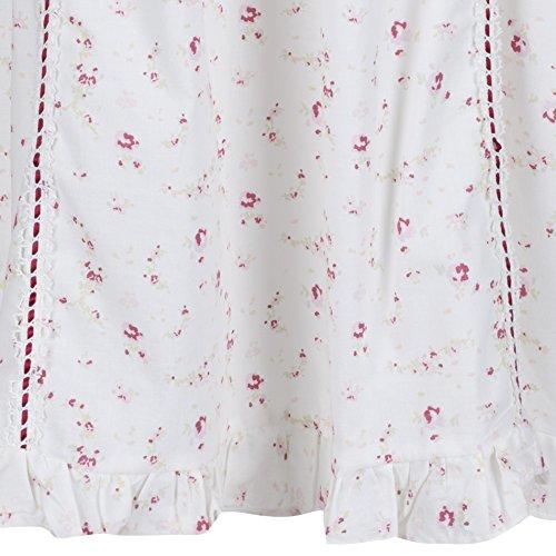 perThe 1 for U 100% cotone Camicia da Notte - Nancy - s - XXXXL Vintage Rosa