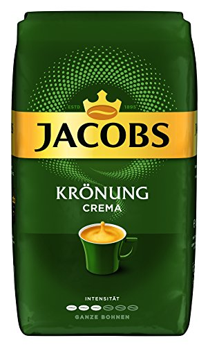 Jacobs Krönung Crema, Kaffee Ganze Bohne, 1 kg