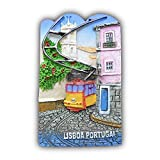 Wedare Portugal 3D Kühlschrank-Magnet Reise-Aufkleber Souvenirs, Home & Kitchen Dekoration Portugal Kühlschrankmagnet aus China