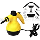 Multi Purpose Handheld Steam Cleaner 1050w Portable Steamer W/attachments New by Handheld Steam
