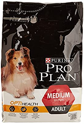 PURINA PRO PLAN Dog Medium Adult with OPTIHEALTH Rich in Chicken Dry Food from Pro Plan