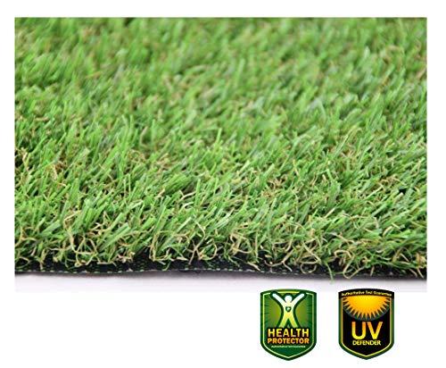 XONE Prato Canadese Sintetico Top Quality 25 mm H2x10mt Tot 20m2 | Erba Giardino Artificiale | Tappeto Verde Erba | Manto Prato Sintetico 25mm