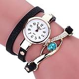 Clearance. Las mujeres de diamantes relojes Sonnena señoras mujeres wrap around pulsera analógico...
