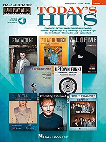 Piano Play-Along Volume 132: Today's Hits (Hal Leonard Piano Play-Along)