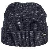 Eisbär Flashy Reflective Kindermütze Wintermütze Umschlagmütze Strickmütze (53 cm - dunkelblau)