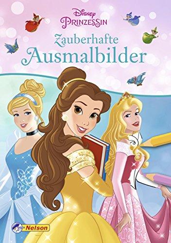 Disney Prinzessin: Zauberhafte Ausmalbilder