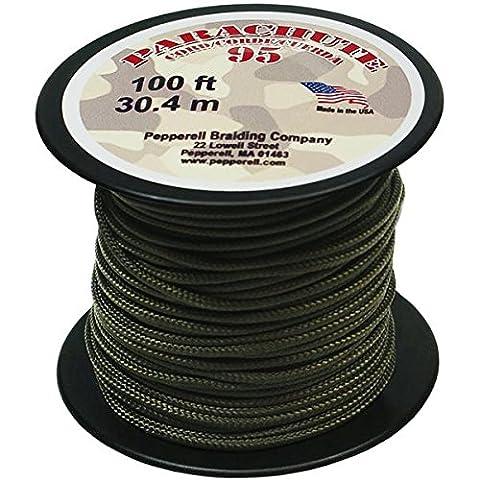 Pepperell Nylon Parachute Cord 1.9 mmX100'-Olive