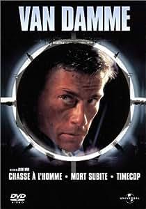 Coffret Jean-Claude Van Damme 3 DVD: Chasse à l'homme / Timecop / Mort subite