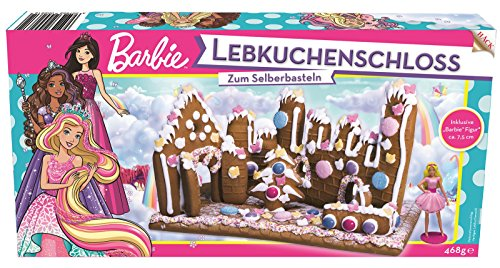 Barbie Lebkuchenhaus Lebkuchen Bastelsatz Bausatz mit Barbie Sammelfigur 262