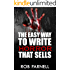 The Easy Way to Write Horror That Sells