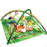 WFHhsxfh Regenwald Baby Fitness Teppich Light Music Fitness Matte Game Pad Babyprodukt