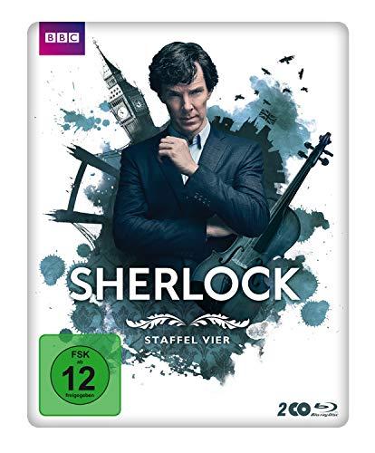 Sherlock - Staffel 4 - Limited Blu-ray-Steelbook-Edition