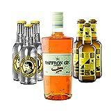 Saffron Gin Boudier & Thomas Henry + Aqua Monaco Set