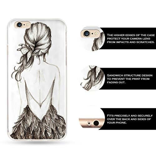 iphone 4/4S SUPER-CASE cover iCreat schönes Design mit Dunkelrot-Muster, Gemaltes iphone Hülle Gehäuse Hartschale harte Rückseite für Apple IPHONE 4 4G 4S B523