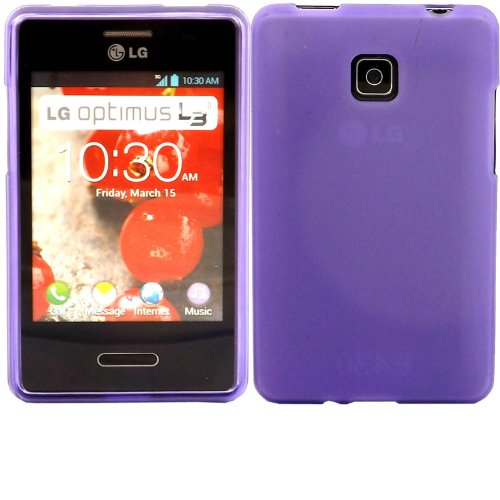 Katinkas Soft Gel Cover for LG L3 II, Purple