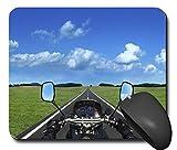 Mauspads Mouspad Mausunterlage Fahrzeug Fahren Simulator Motorrad schönes Design schick NEU 100MPN2472