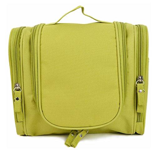 008e4fafbd0 Oriental eLife Toiletry Bag Voyage, ¨¦tanche Hanging Toiletry Bag Makeup  Organizer-vert