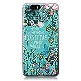 CASEiLIKE Nexus 6P case, Blooming Flowers Turquoise 2249