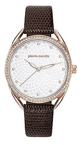 Pierre Cardin Reloj Analogico para Mujer de Cuarzo con Correa en Cuero PC901872F04