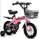 """KY Vélo Enfants Vélos pour Enfants Girl'sskids 3 Couleurs, 12 """",..."""