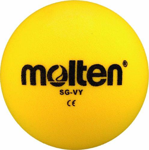 Molten Softball Volleyball SG-VY, Gelb, Ø 210 mm Ball, 290 g, Durchmesser