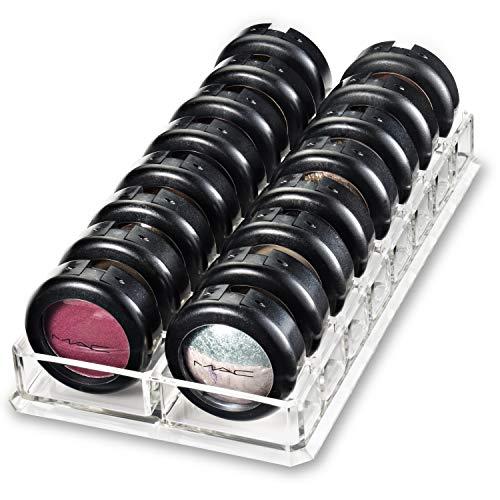 byAlegory Acrylique ombre à paupières maquillage Organisateur | 16 espaces