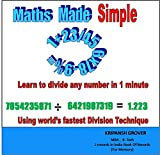 Learn to Divide any number in 1 minute (Maths Made Simple)