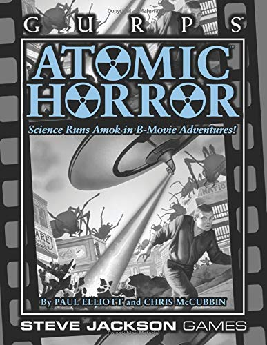 GURPS Atomic Horror por Paul Elliott