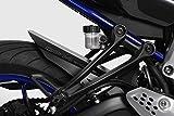 Yamaha MT07-FZ07 2014/17 - Kit Kotflügel - Aluminium Heckfender, Rear Mudguard Fender - Einfache Installation - Mattschwarz - Motorradzubehör De Pretto Moto (DPM) - 100% Made in Italy