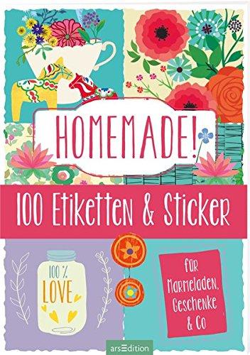 Preisvergleich Produktbild Homemade!: 100 Etiketten und Sticker für Marmeladen, Geschenke & Co.