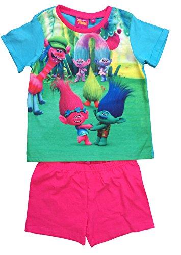 DreamWorks Trolls Pyjamas Girls Trolls PJS Ages 3 To 10 Years