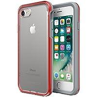 LifeProof 77-57407 Serie Slam Custodia per Apple iPhone 8 Rosso/Trasparente