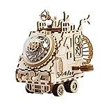Xiaoli Spieluhr DIY Holzspieluhr Kit 3D Holzmodellbau Kit for Jungen und Mädchen, wenn Weihnachten...