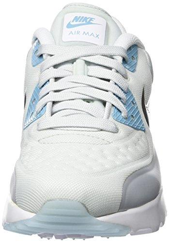 Nike Mädchen Air Max 90 Ultra Se (Gs) Laufschuhe Plateado (Pure Platinum / Metallic Silver-Wolf Grey)