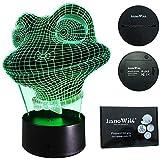 InnoWill LED Lampe Frosch Geformt Nachtlicht Geschenke