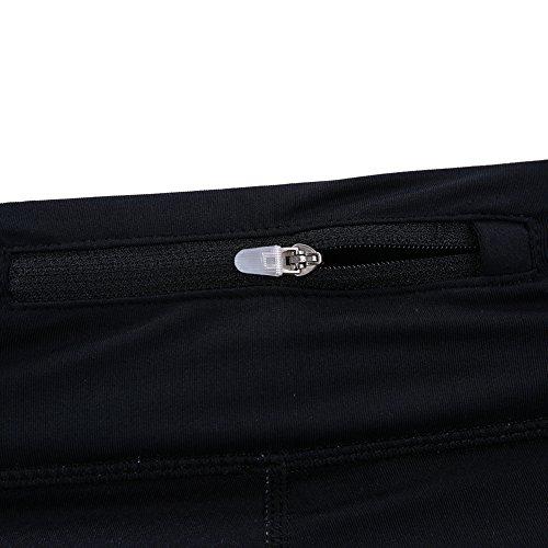 Ming Legging de Yoga Sport Femme Imprimé Collant Minceur Séchage Elastique Yoga/Fitness/Running Dégradé