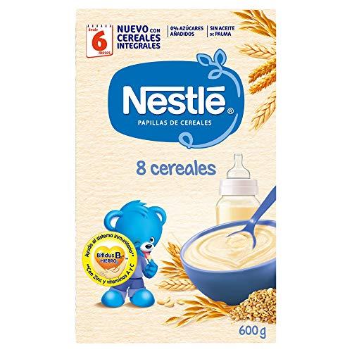 Nestlé Papilla 8 cereales
