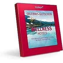 mydays Hotel-Gutschein | Wellnesshotels | 1 Übernachtung 2 Personen 80 Hotels | Inklusive Geschenkbox