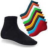 10 Paar original SNEAK IT! Kurzschaft Sneaker Socken - Quarter Socks - für Sie und Ihn - Viele trendige Farben und Größen 35-50 wählbar! - Qualität von celodoro