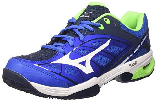 Mizuno Wave Exceed CC, Scarpe da Tennis Uomo, Multicolore (StrongBlue/White/DressBlues), 44.5 EU