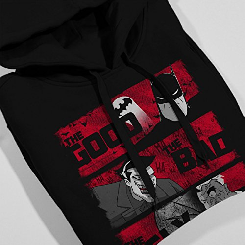 Gotham The Good The Bad And The Ugly Women's Hooded Sweatshirt Black
