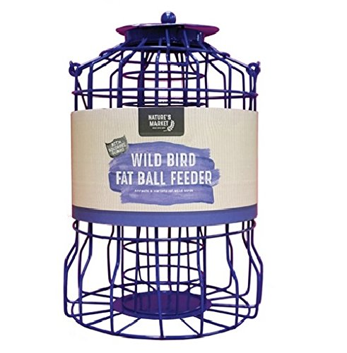 BF007FB Kingfisher Squirrel Guard Fat Ball Feeder