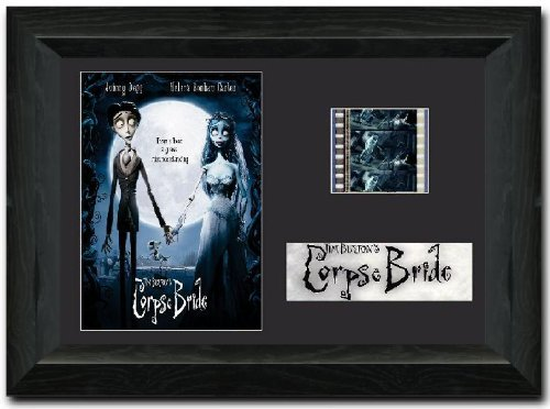 Corpse Bride 35 mm Film Cell, gerahmt Display Atemberaubende Sammelfiguren Johnny Depp Tim Burton