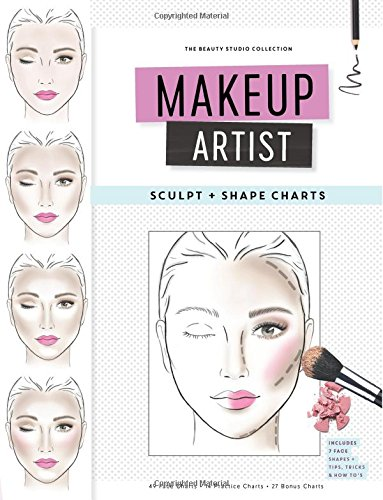 Makeup Artist Sculpt and Shape Charts (The Beauty Studio Collection) por Gina M Reyna