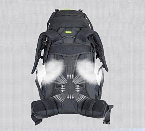 Outdoor Backpack 60L sacchetti di alpinismo viaggio zaino zaino borsa da viaggio ( Colore : Nero , dimensioni : 60l ) Royal Blue