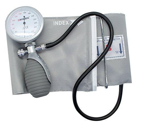 Manuelles Aneroid Blutdruckmessgerät mit Manschette | Mit Tasche