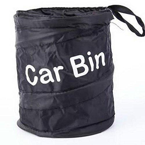 Bell Abfalleimer Trash kann Katzenstreu Container Auto RV Pop Up Garbage Bin Tasche