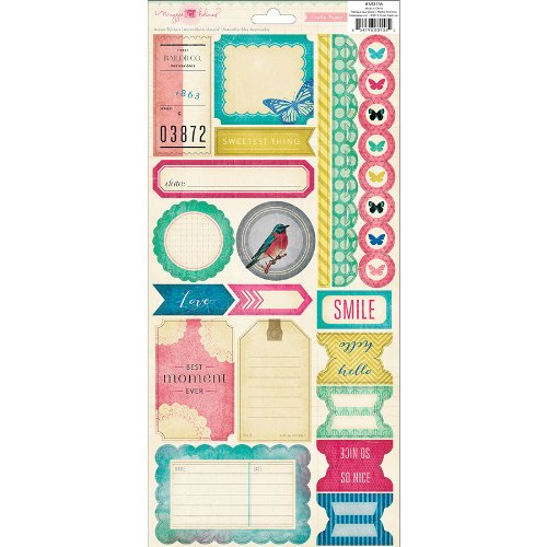Maggie Holmes Signature Cardstock Stickers 6